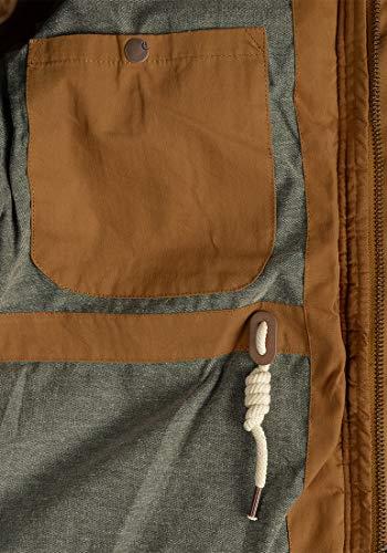 SOLID Dry Long Winterjacke, Größe:L;Farbe:Cinnamon (5056) - 7