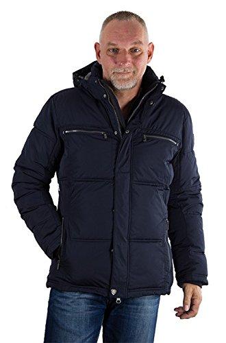 Northland Herren Winterjacke Spencer Jacke, dunkelblau