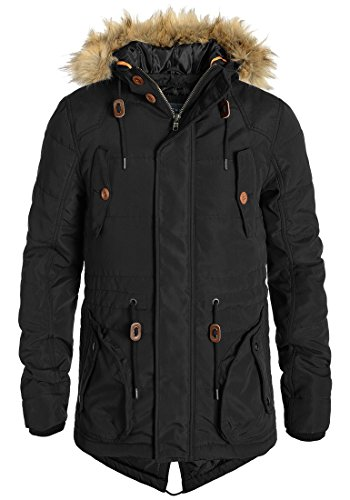 blend polygamma 20702200me winterparka gr e l farbe black 70155 herren winterjacke. Black Bedroom Furniture Sets. Home Design Ideas