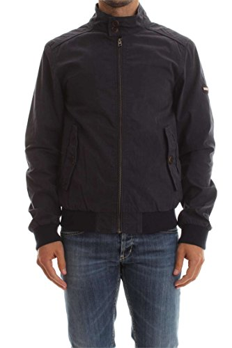Hilfiger Denim Herren Jacke Thdm Harrington Jacket 13, Blau (Black Iris 002), Medium